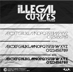 Illegal Curves Font by Weslo11