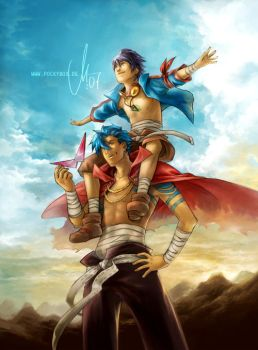 TTGL - The sky is ours by rennerei