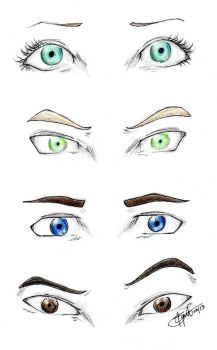 Shatter Me eyes by chrysalisgrey