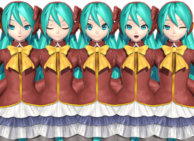 Noble Miku Effects/Expressions by Malik-Hatsune