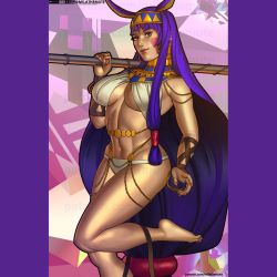 Nitocris by MilaTheMute
