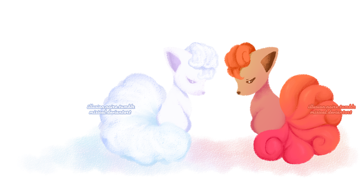 Vulpix by Misical
