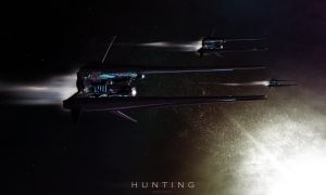 Hunting drone color by Vanishin