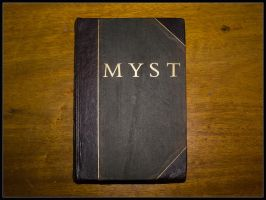 A real Myst book - front cover by riumplus
