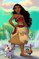 Moana by SingerofIceandFire