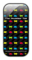 Invader Tile by MochizukiDesigns