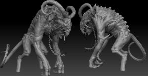 Wip creature by zerojs