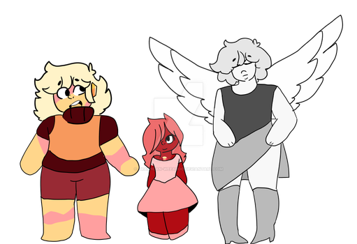 New Gems I Guess by Trashcan-weeaboo