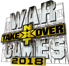 NXT TakeOver WarGames (2018) Logo by DarkVoidPictures