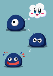About Gooey's Face by kaialone