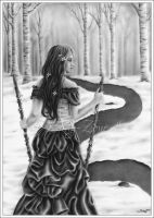 2 Of Wands - Choosing My Path by Zindy
