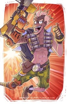Bombs Away Junkrat - Overwatch by marcotte