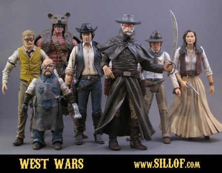 West Wars - Heroes by sillof