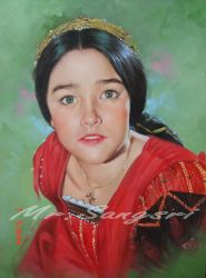 olivia hussey by portrait111
