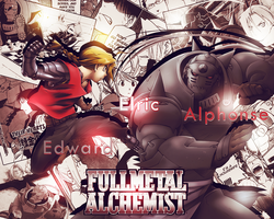 Elric Brothers (Full Metal Alchemist) by YataMirror