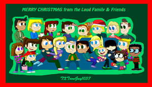 The Loud House - A Loud Buttowski Christmas by TXToonGuy1037