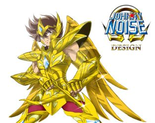 Seiya de Sagitario. Omega Cloth Version 02 by JohnnyNoise