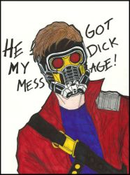 Star-Lord, Man by NOTEBLUE13