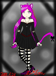 NEW OC Grape by ChristinaBreeze13