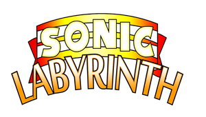 Sonic Labyrinth Logo Remade HD by NuryRush