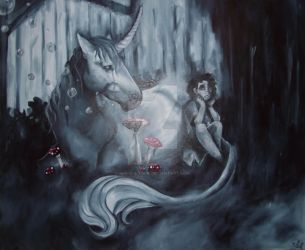 The Crying Unicorn by M-o-n-s-t-a-R
