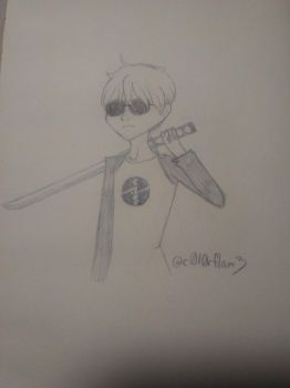Dave Strider by colorflame