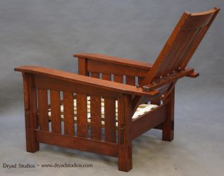 Arts and  Crafts Morris chair recliner by DryadStudios