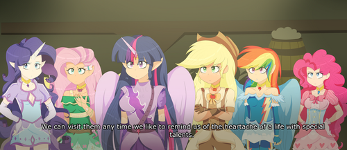 My Little Pony the Anime - s5ep1 screenshot redraw by CosmiicKatie