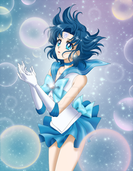 Sailor Mercury Crystal by AlbertoSanCami