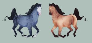 Horse Adopts SALE [OPEN] by camomile-adopts