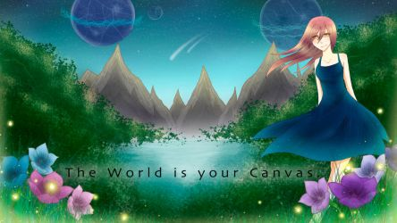 The World is your Canvas by Xentrias