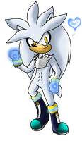 :..Silver The Hedgehog..: by xMissFabulousx