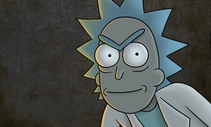 Rick Sanchez by Fecu