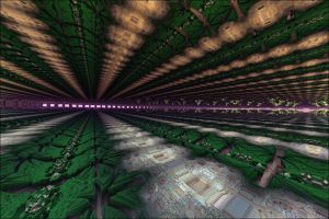 Architectural Tunnel by GLO-HE