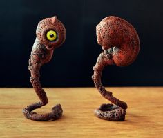 Embryo 3D red by MaComiX