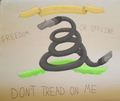 Don't Tread On Me by komodithrax