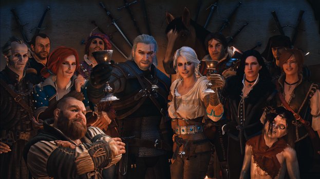 Celebrating the 10th anniversary of The Witcher by SirDavidRobinson