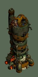 Scrapyard Tower by danimation2001