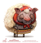 Daily Paint 1884# Baabooshka by Cryptid-Creations