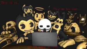The Moment Of Truth (BATIM) by Clawort-Animations