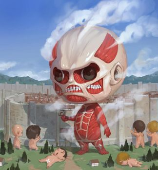 Attack on Titan by inshoo1