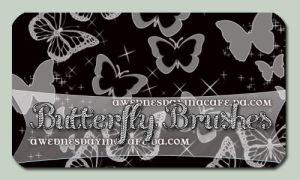 +ButterflyBRUSHES2.0 by AWednesdayInACafe