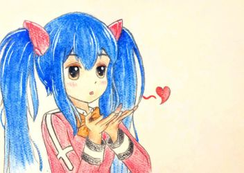 Commission #1: Wendy Marvell by vt2000