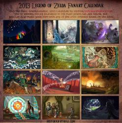 The 2013 Contest Winners (UPDATED) by Woodland-Mel
