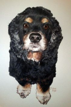 Woof by pixeleiderdown