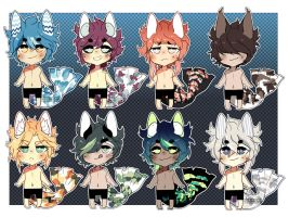 [Kitty Koi Adopts: closed] by Neon-Hazard