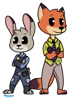 Nick And Judy by TheDarkShadow1990
