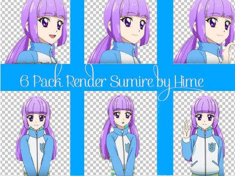 #6 Pack Render Hikami Sumire by Hime by akb1123