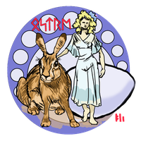 Oestre - goddess of Easter by PeKj