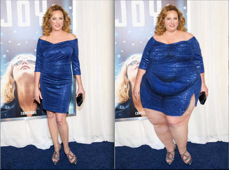 Virginia Madsen Before/After by cahabent